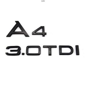 A5 3.0TDI Custom Plastic Emblem Logo A4 3.0TDI Chrome Motorcycle Car Sticker A3 3.0TDI Wholesale
