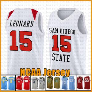 15 Kawhi State College NCAA Universität Basketball Jersey CSER 23 Leonard 3 Wade 11 Irving 30 Curry