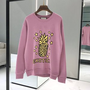 high quality pineapple Designer Hoodie Sweatshirts Long Sleeve Shirts Hoodies Autumn Spring women luxury clothing Printed letter Sweater S-L