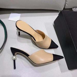 New 2021TOP-Qualität Designer Slipper Luxurious Pantoffeln Sandalen Klassische Avaliable Sommer Kalbsleder Freizeit der Frauen für Dame-Kleid-Schuhe