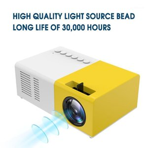 New 1080P HD Projector J9 Mini Projector Ultra Projectors LED Mini Support Cell Phone Multimedia Home Theater EU Plug1