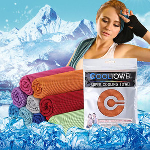 Sport kaltes Handtuch schnell Kühlung Kühl kalten Outdoor Bergsport Fitness laufen Schweißabsorption wischen Eistuch BWD2318