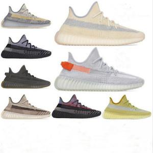 2020 Kanye West Israfil Cinder Marsh Reflective Hombres Zapatillas de correr Yeshaya Yecheil Zyon Oreo Lino Desierto Sabios Sabios Sabos de mujer zapatillas de deporte