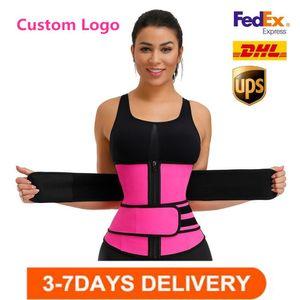 EE. UU. Traisor de cintura Reduciendo Shorters Slimming Trimmer Cinturón Cuerpo Shaper Neopren Pummy Shapewear Bones Huesos Mujer Cincher Corsé