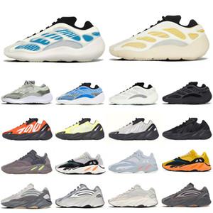 v1 v3 adidas mnvn 700 Kanye West V2 Reflective Men Wave Runner Sport Zapatillas de correr Phosfor V1 MNVN Sun Hueso Naranja Carbono V3 Mujeres Zapatillas de deporte Entrenadores