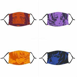 Máscaras 1Pcs Er Fa Máscara mask 1 Adultos impressos Set Pó Facial Dener Mout Ski Dustproof Famask # Máscaras 645 1Pcs Er Fa Máscara mask 1 Impresso Dvrw
