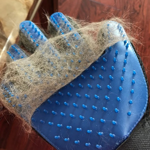 Pet Cat Gloves Pet Cleaning Floating Hair Brush Pet Grooming Massage Gloves Cats Dogs Bathing Clean Tools VTKY2331