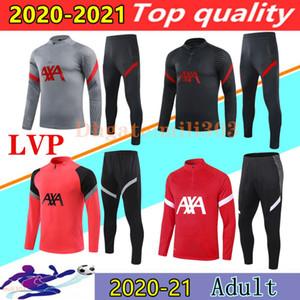 20 21 chaqueta de chándal de fútbol Liverpool para hombre 2020 2021 M. SALAH MANE chaquetas de traje de entrenamiento de fútbol liverpool soccer tracksuit jacket chandal de futbol