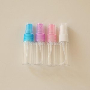 20ML 20CC Plastic Atomizer Spray bottle Cosmetic Make-up water Refill Pump Bottle PET Container Perfume Sample packing 100PC Lot