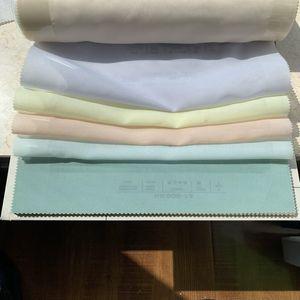 ChadMade Scandina Solid Sheer Interni Esterni Campione di tessuto (16 colori)