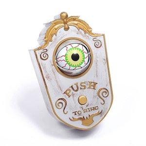 Animato campanello con Light-up Occhi suono talking Eyeball Campanello Ognissanti Prop Spettrale giocattolo per Pasqua decorazione di Halloween