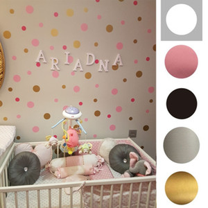 3 4 5cm Polka Dot Wall Sticker Self-adhesive Removable DIY Wall Stickers for Kids Bedroom Decoration Kindergarten Art Decal