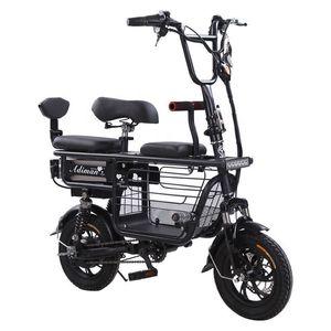 Daibot 전기 자전거 자전거 부모 - 자식 2 바퀴 전기 자전거 48V 80km 스마트 휴대용 전기 스쿠터 3 석