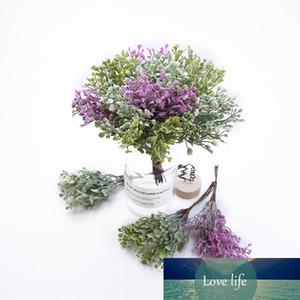 6PCS Startseite Hochzeit Dekoration Scrapbook Weihnachten dekorative Blumenkranz künstliche Pflanzen diy Garlands Material gefälschtes Gras