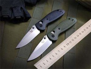 Benchmade BM Mini 556 555 Mini AXIS faca 154cm lâmina pega em nylon Outdoor Camping Faca BM940 BM555-1 BM810 BM42 faca