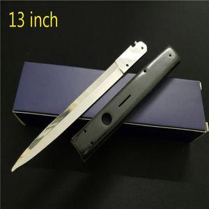 Итальянский нож автоматический AB Codefather Camping Stiletto горизонтальные тактические 13 складные 440C Blade дюйма мафиозная охота на выживание ножи EDC CJGI