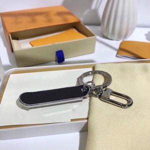 Key llavero Auto Keychain Schlüsselanhänger Schlüsselanhänger Schlüsselanhänger aus Leder Mann-Frauen-Beutel-Anhänger Zubehör 3 Farbe portachiavi porte clés