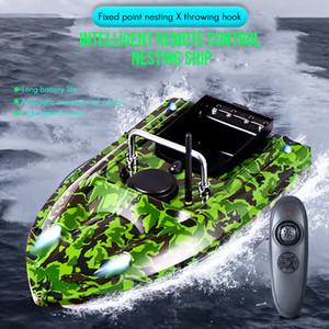 500 m RC Distanza Distanza Telecomando Bait Bait Bait Speed Boat Barca Ferro Finder Ship Boat con caricabatterie UE / UK / AU / Caricabatterie UE