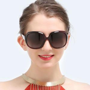 Occhiali da sole oversized donne di lusso sfumato sfumato di lusso occhiali da sole femmina grande cornice vintage occhiali UV400