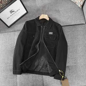 20fw Paris G casaco novo mens chegada jaqueta de trabalho do desenhador burb blusão camisola streetwear BBR jaqueta de inverno roupas de qualidade superior