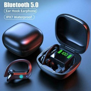 2020 TWS 5.0 Bluetooth Earphone Wireless Earbuds Fingerprint Touch Headphone With Charging Box Handsfree For Sport Game