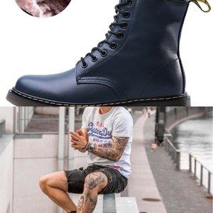 alta qualità Runway Tacco Bootsboot uomo in pelle donna breve FlatsGenuine caviglia femminile Slip On stivali Shoes Boots Design Ladies Runway # 322