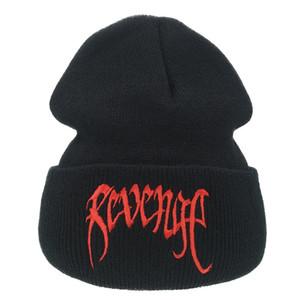 Banda Xxxtenta Revenge malha dos homens de lã e de Mulheres pulôver Inverno Cap Hat Fria PXZB