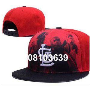 2020 Cardinal hat LS Logo Team Fans's Snapback Hat Brand Popular Hip Hop Adjustable Cap Curved Flat Bill With Special Printed Visor a6