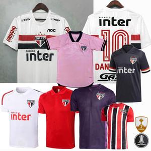 20 21 Sao Paulo FC Jersey Soccer Sao Paulo Pablo Pato Helinho Dani Alves 2020 2021 Football Hommes et Femmes Chemise pour enfants
