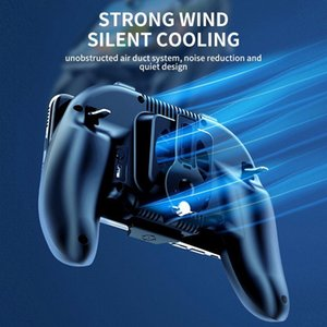HobbyLane H12 Game Controller Joystick Semiconductor Cooling Trigger Gamepad for IPhone Android Mobile Phone