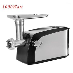 Professional Enterprise Commercial Metal Stainless Steel Mincer Electric Meat Grinder Machine1