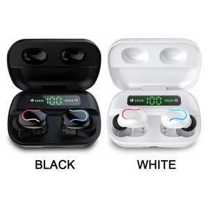 TWS Earphones ANC ANN GPS Renomear Pro Pop Up Janela Bluetooth Fone de Ouvido Auto Paring Sem Fio Caixa de carregamento sem fio Earbuds Navio grátis