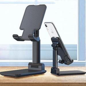 Складной держатель телефона Мобильный регулируемый гибкий стол для стойки стол, совместимый с смартфон Android для iPhone 11 xr xs pro max с розничной коробкой