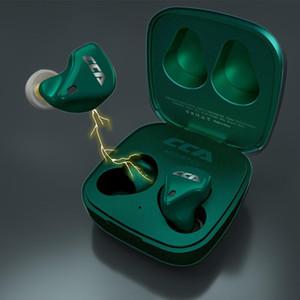 CCA CX10 10BA 5,0 Auricolari Bluetooth TWS impronte digitali touch Auricolare Stereo In-Ear Wireless Auricolari per lo sport