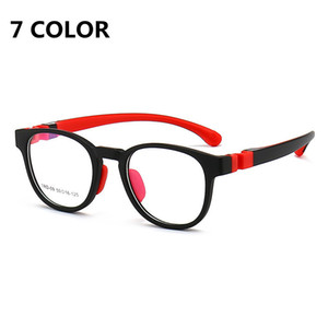 Bambini Blue Blue Blue Glasses Boys Girls Computer Glasses Goggles Transparent Ottical Ottical Eyewear Block Bambini Anti Blue Ray EyeGlasses