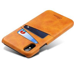 Slim Capas de couro PU para iPhone 12 11 Pro Xs max 8 7 6 6s plus caso capa traseira titular cartão carteira para iphone xr