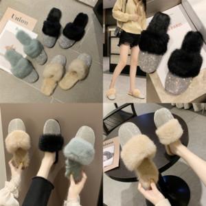 GAIV7 nuove donne Dway dway slide slipper ramour sandali piatti designer moda brillante pelle flop flat flip cause ricamato suola alta