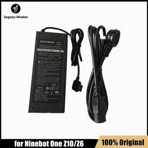 Оригинальное зарядное устройство 120W 58.8V для Ninebot Один Z10 Z6 самообслуживания Баланс Электрический самокат Моноцикл Skate ховерборда Replenisher частей