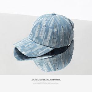 European and American Imitation Cowboy Hat Lovers Cap Baseball Caps Fashion Accessories Mens Hats Blue Ball Caps