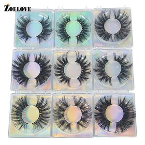 Mink Eyelash in Bulk 25mm Eyelash Vendor Dramatic Lash Packaging Box Soft Curly False Eyelashes Wholesale Mink Eyelashes