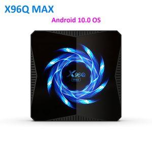New X96Q MAX Smart TV Box Android 10 Allwinner H616 4GB 32GB 64GB 2.4G 5G WiFi Bluetooth 4K Media Player Android TV Box