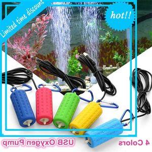 Aquarium Mute Usb Air Outdoor Fishing Mini Oxygen pump