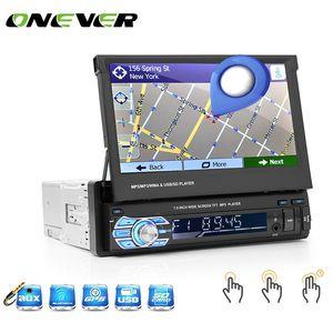 General GPS navigation player MP5   124; general MP5 FM radio player, 7-inch telescopic display, car Bluetooth, MP5 DVD player