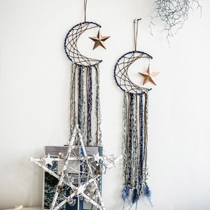 Luna Metal Craft Hoops Dream Catcher anelli per fai da te Dreamcatchers Greathers Macrame B0KB1