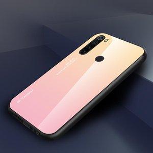 Gradient Tempered Glass Case For Xiaomi Mi 9 Lite Mi9 Se 9t Pro Cc9 Pro Redmi 8 8a Note 8 Pro 8t sqcbbO