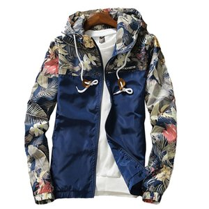 Women Hooded Jacket Summer Casual Clothes Women's Windbreaker Jackets Coats Sweater Zipper Bomber Female Coat Big Size 201102