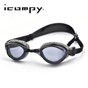 LANE4 Professional Swimming Goggles Patented Gaskets Anti-Fog UV Protection Fitness & Training For Small Faces #Icompy Q0112