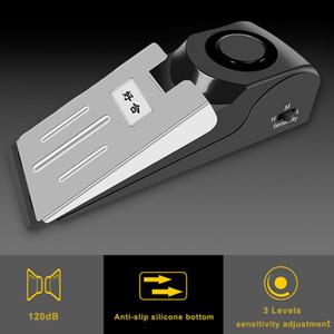 Portátil Carrying Feminino Personal Outdoor Alarme Sensor Sem Fio Vibração Porta Parada Stop Alarme Sistema de Segurança