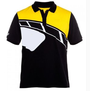 2021 Style chaud Jersey Summer revers Polo Chemise Racing Jersey Casual T Short T Shirt Chemise à manches courtes