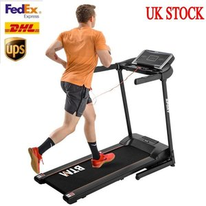 UK STOCK Hydraulic Folding Motorized Running Machine for Home Office Use Electric Treadmill 16 level adjustable incline MS194821AAB